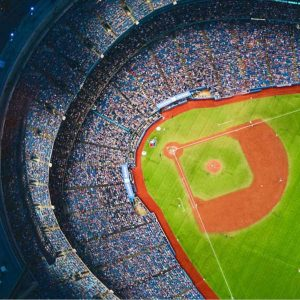 عکس پروفایل اسپرت ورزشی زمین بیسبال