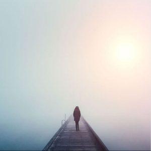 عکس پروفایل تنهایی دخترونه غروب
