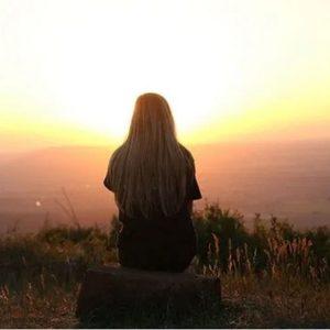 عکس پروفایل تنهایی غروب دخترونه
