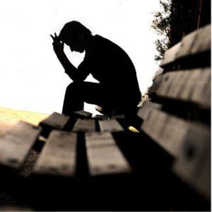 عکس پروفایل غمگین پسرونه نیمکت