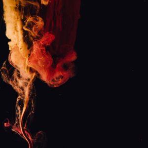 عکس پروفایل مشکی و نارنجی