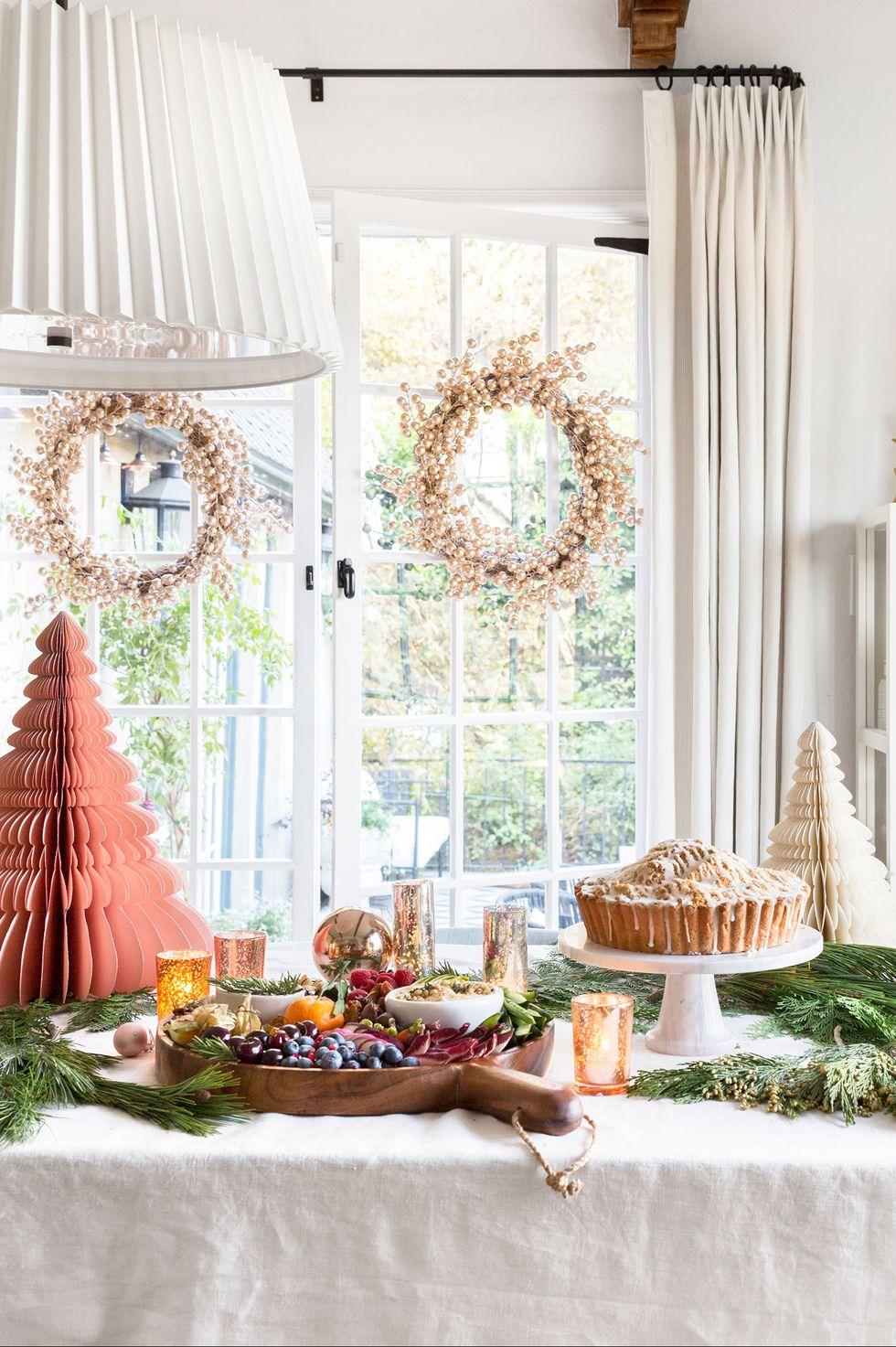 مدل میز سفید کریسمس 2020