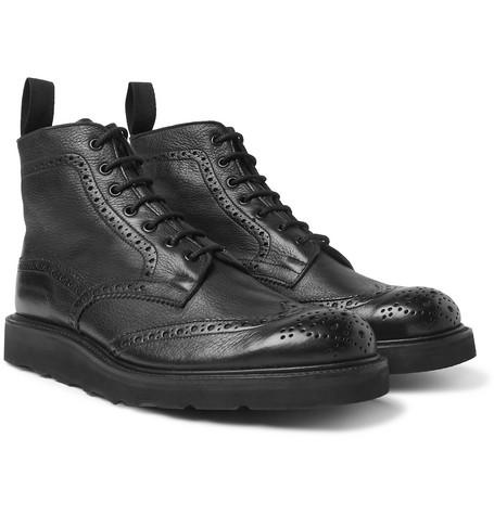 نیم بوت شبیه به کفش مردانه و پسرانه مشکی