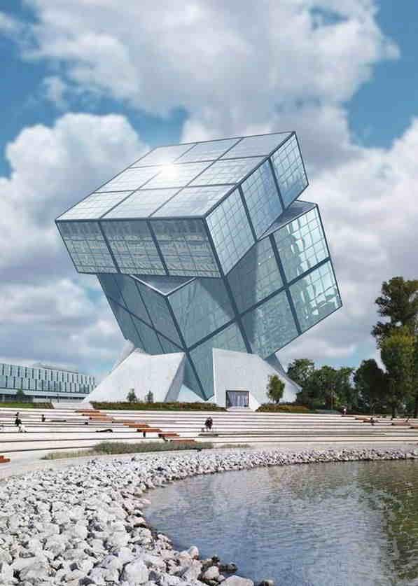 پروفایل ساختمان به شدت زیبا و شیک برای مهندسای معمار