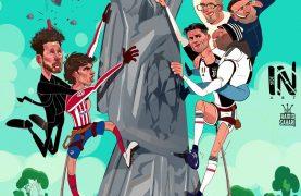 کاریکاتور زیبا به مناسبت صعود یوونتوس به دور حذفی لیگ قهرمانان
