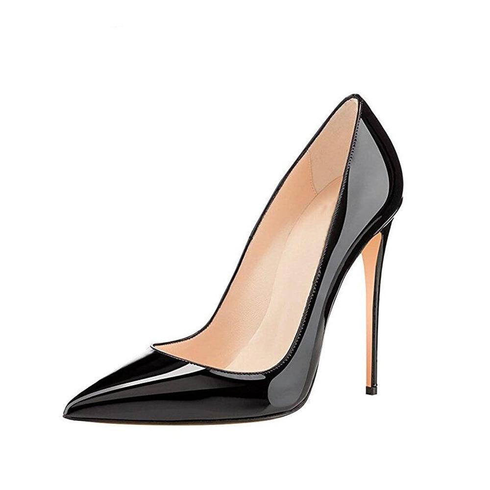 کفش مشکی پاشنه بلند جذاب زنانه مخصوص سال 2020
