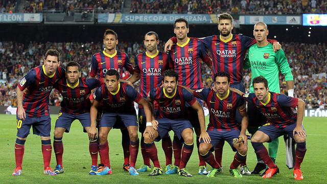 ترکیب بارسلونا 2013