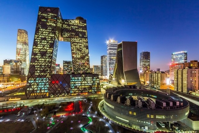 شب دیدنی پکن چین
