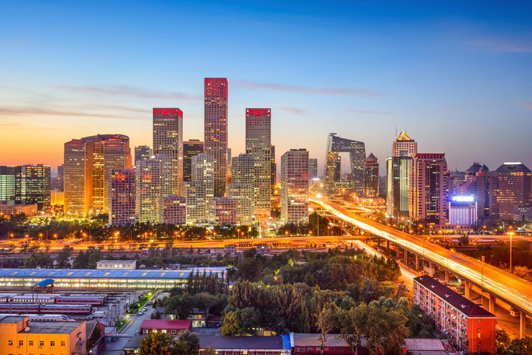 نمای زیبا از پکن در چین
