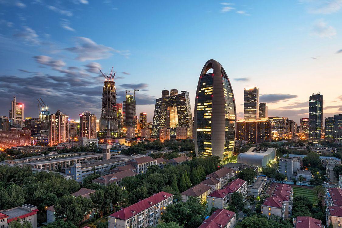 نمای دیدنی و خاص از ساختمان های پکن چین