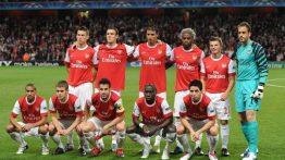 ترکیب آرسنال ۲۰۱۰ و عکس بازیکنان