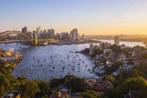 تصویر زیبایی از شهر سیدنی