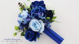دسته گل عروسی آبی و آبی ملایم عروسی ۲۰۲۰