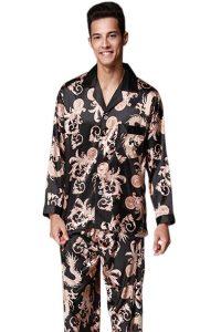 لباس خواب مردانه گل گلی