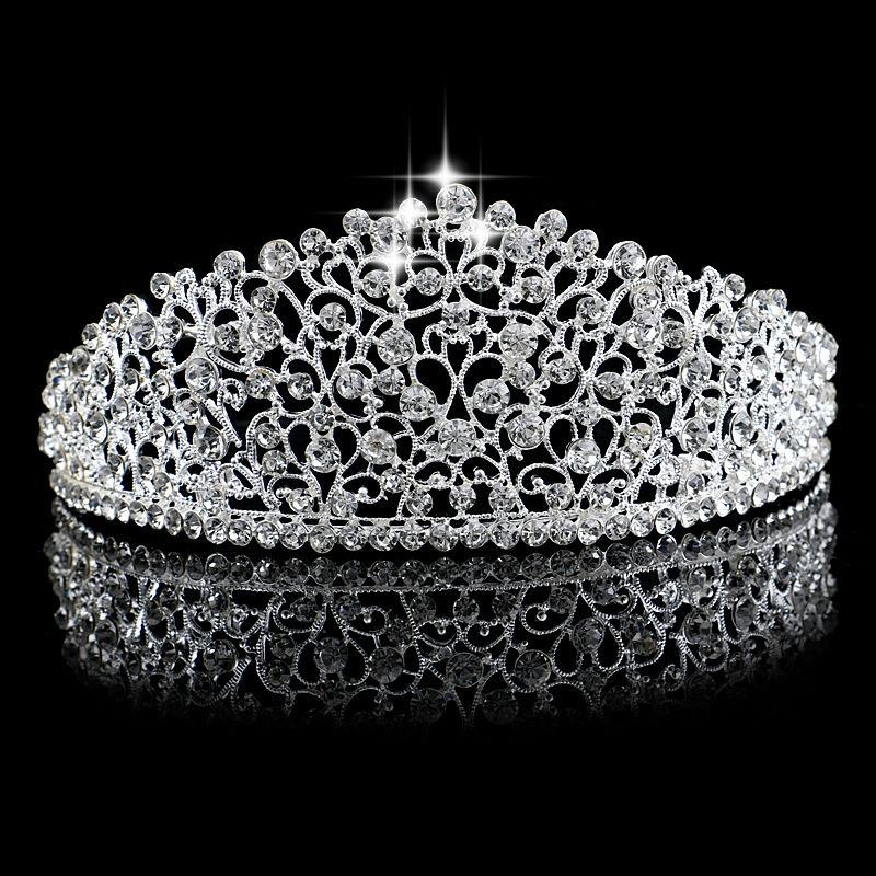 مدل تاج شاهنشاهی عروسی نقره ای دیدنی