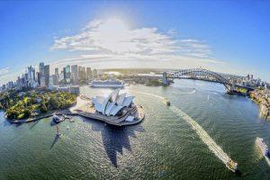 نمای زیبای شهر سیدنی
