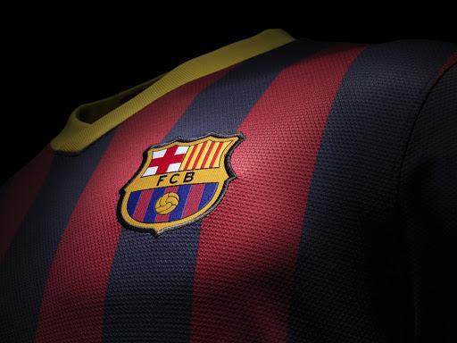پروفایل بارسا روی پیراهن بارسلونا