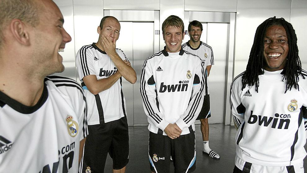 بازیکنان هلندی رئال در 2008