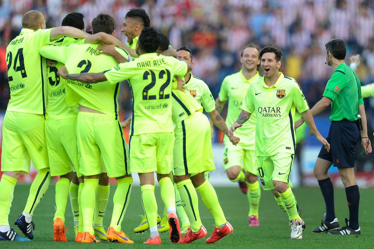 لباس دوم بارسلونا در فصل 2014