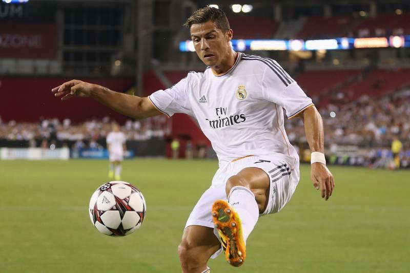 رونالدو با رئال در لیگ قهرمانان 2013