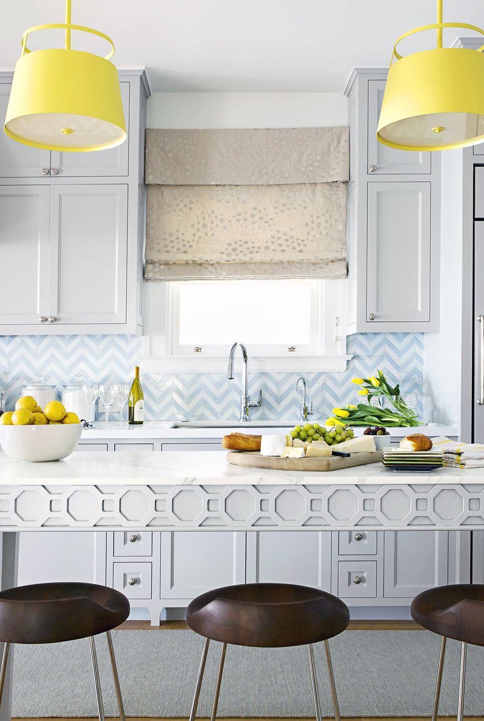 آشپزخانه تمام سفید دیدنی و شیک خاص 2020