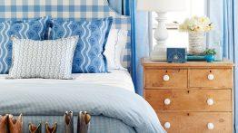 مدل اتاق خواب دیدنی آبی رنگ زیبا در سال ۲۰۲۰ مخصوص تینیجرها