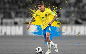 تصاویر فیلیپه کوتینیو با لباس برزیل