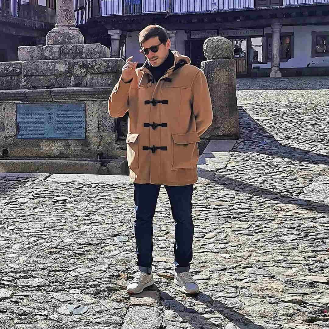 تیپ جالب ایکر کاسیاس در خیابان های رئال مادرید