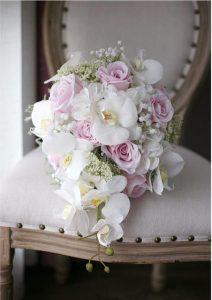 دسته گل بسیار زیبا و خوش رنگ 99