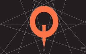 عکس پروفایل حرف q نارنجی