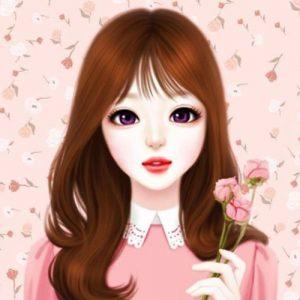 عکس پروفایل کره ای دخترونه صورتی