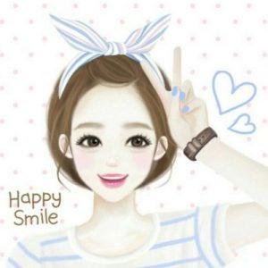 عکس پروفایل کره ای دخترونه طراحی