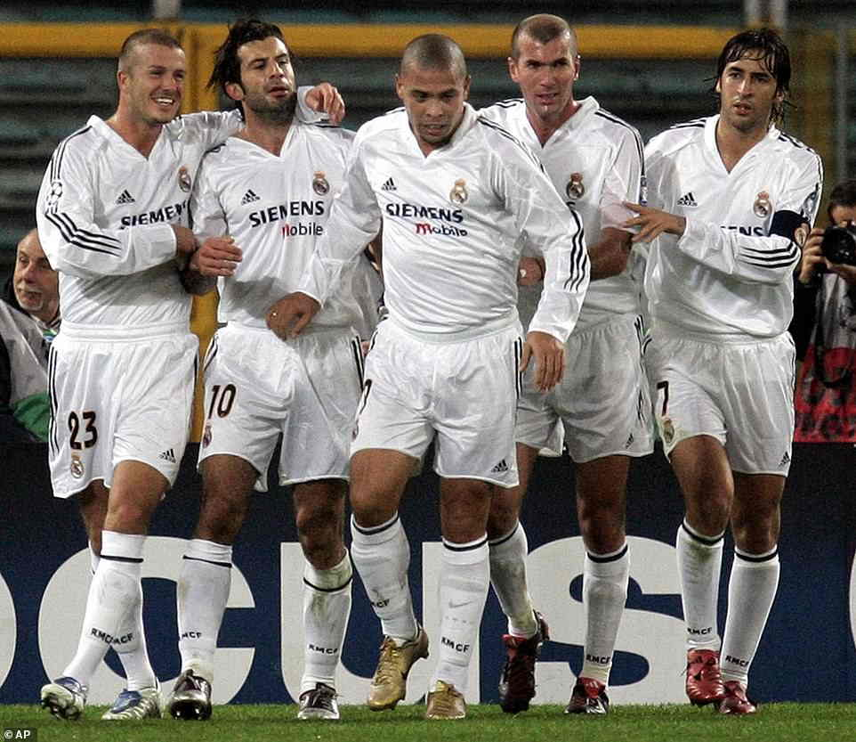 اسطوره های رئال مادرید
