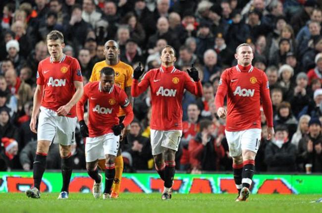 بازی منچستر در لیگ برتر 2011