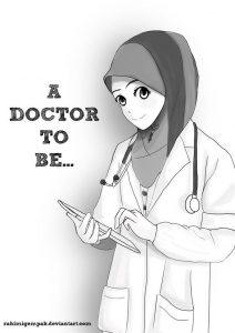 عکس پروفایل پزشکی دخترانه