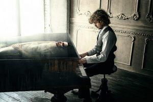 عکس پروفایل پیانو پسرونه