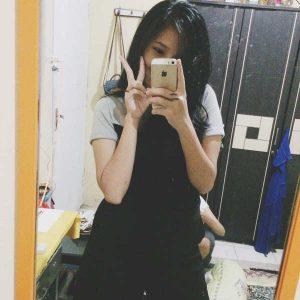 عکس پروفایل جلوی آینه برای دخترها