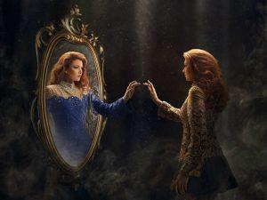 عکس پروفایل جلوی آینه دخترونه