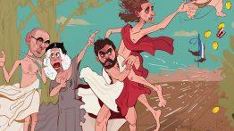 کاریکاتور بازگشت رابیوت به تمرینات یوونتوس