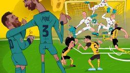 کاریکاتور به مناسبت تولد مارک ترشتگن دروازه بان بارسلونا