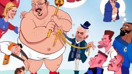 کاریکاتور زیبا به مناسبت تولد رافا بنیتز