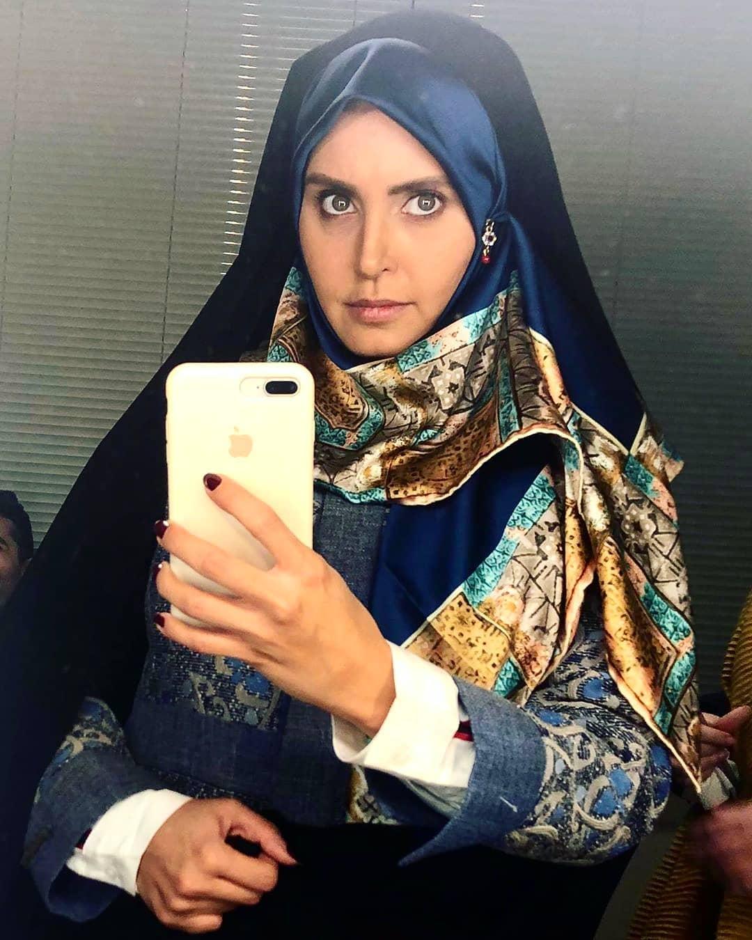 عکس دیدنی الناز شاکر دوست با حجاب