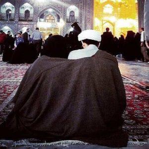 عکس پروفایل زوج مذهبی در حرم امام رضا