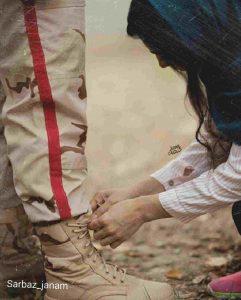 عکس پروفایل سربازی عاشقانه
