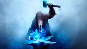 عکس پروفایل شمشیر آبی