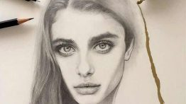 عکس پروفایل طراحی چهره زن