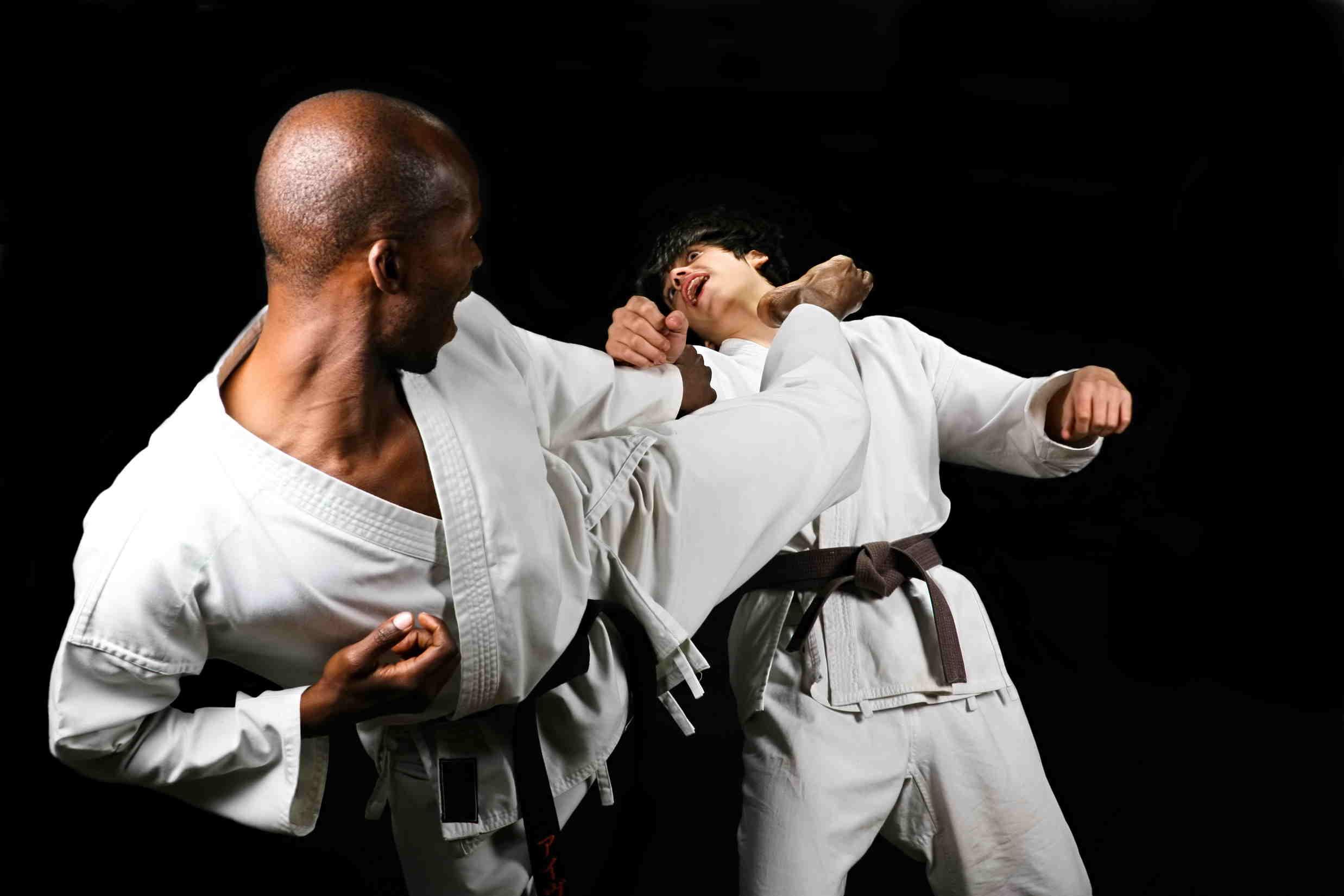 پروفایل ضربه ی دیدنی به سر در کاراته