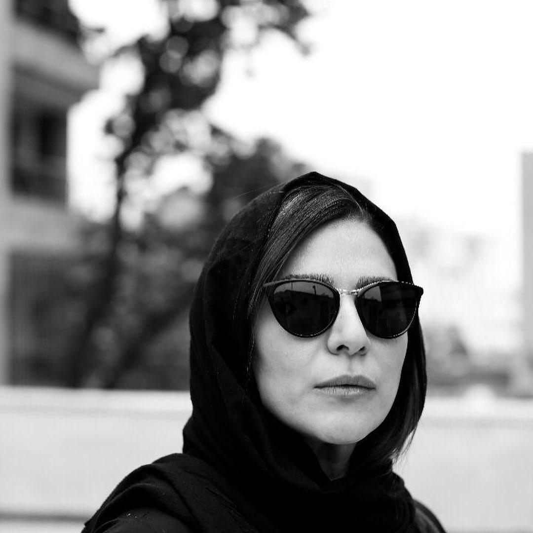 عکس جالب سیاه و سفید از خانم دولتشاهی