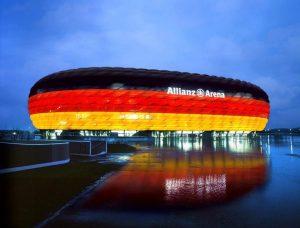 آلیانز آرنا پرچم آلمان