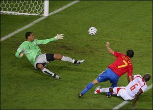 گل اسپانیا به تونس